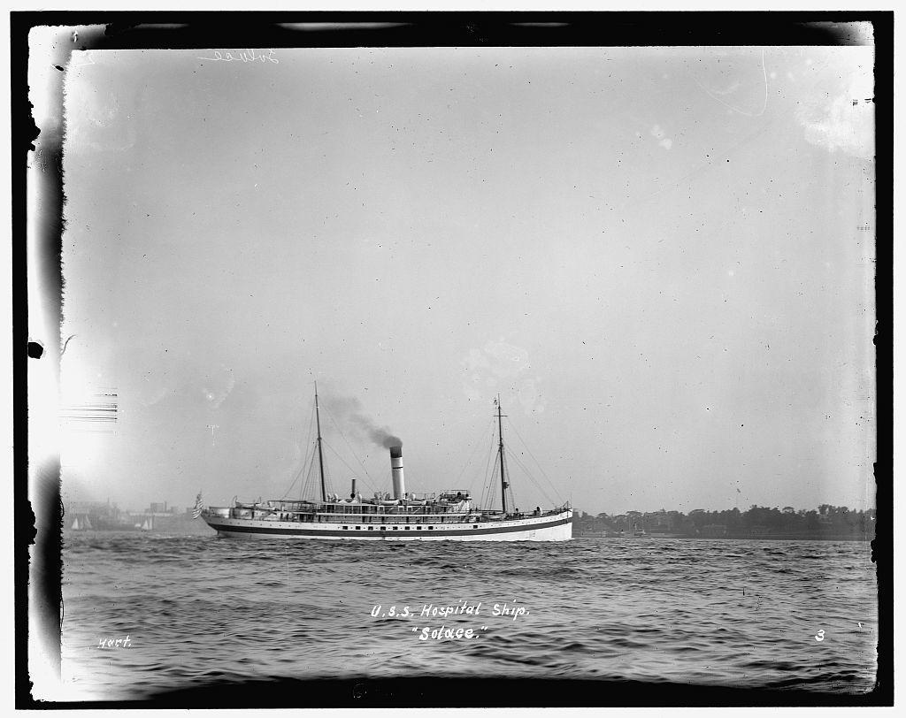 U.S.S. hospital ship Solace
