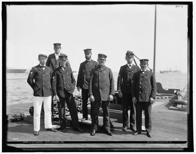 U.S.S. Nahant, petty officers