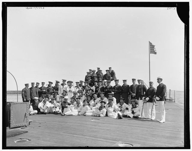 U.S.S. Nahant, ship's company
