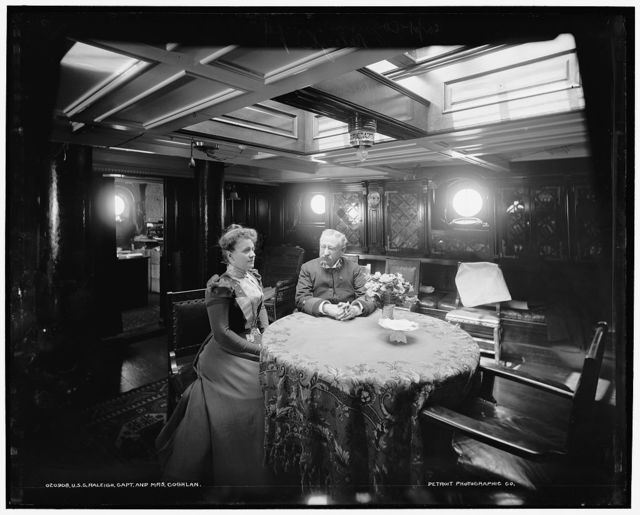 U.S.S. Raleigh, Capt. and Mrs. Coghlan