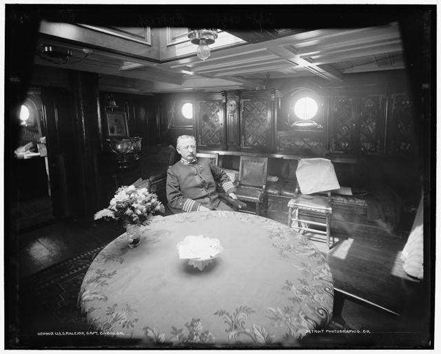 U.S.S. Raleigh, Capt. Coghlan