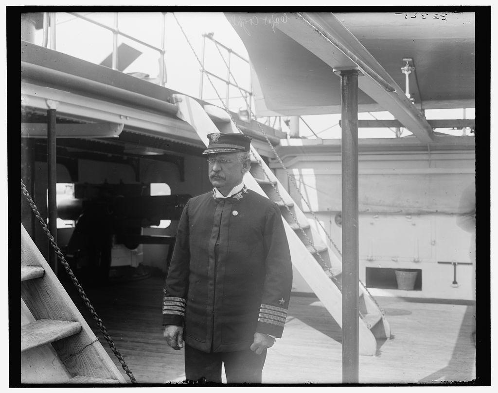 [U.S.S. Raleigh, Capt. Coghlan]