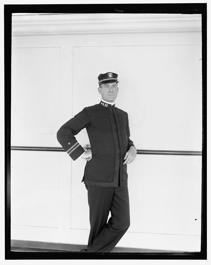 [U.S.S. Solace, executive officer, 1898]