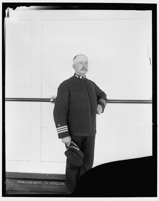 U.S.S. Solace, the captain