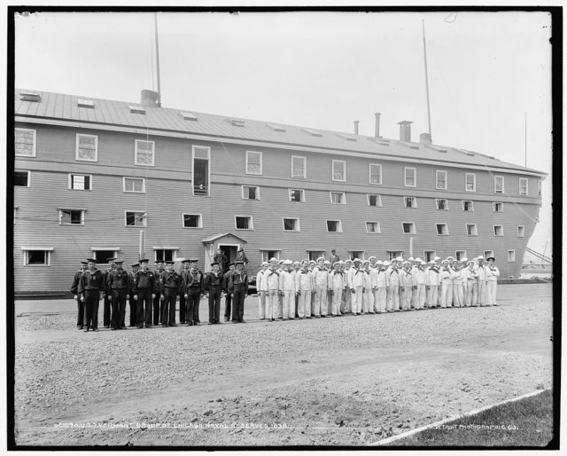 U.S.S. Vermont, group of Chicago Naval Reserves