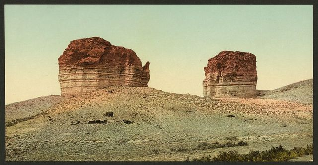 Utah. The giant club and kettle, Green River