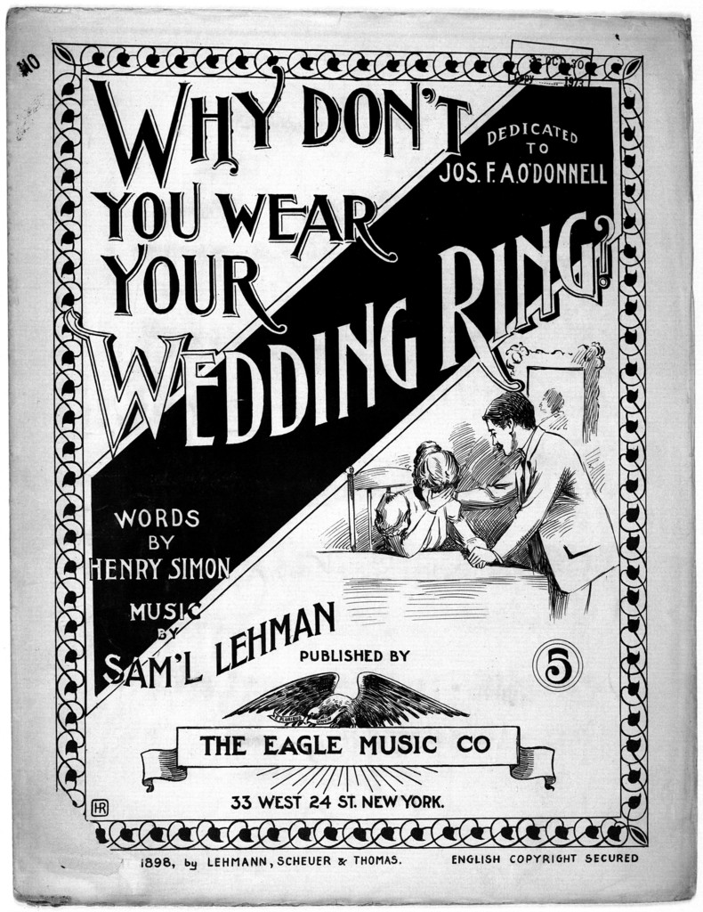 Why don't you wear your wedding ring?