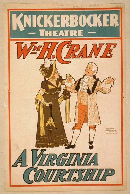 Wm. H. Crane. A Virginia courtship