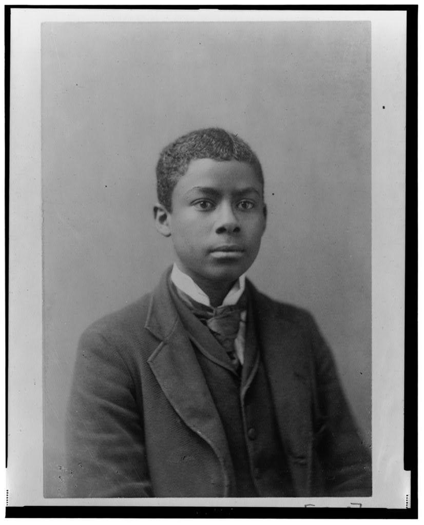 [African American man, half-length portrait, facing slightly right]