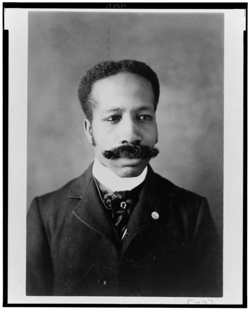 [African American man, head-and-shoulders portrait, facing front]