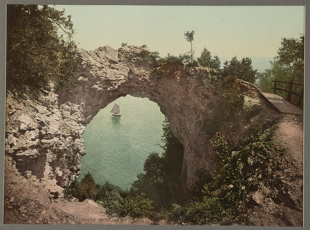 Arch Rock, Mackinac Island, Michigan