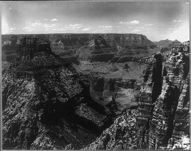 Ayer's Peak & Cape Split, Grand Cañon, Arizona