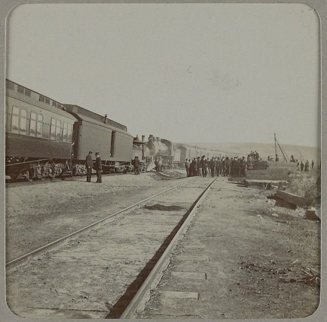 Band members wait out clearing of train wreck [en route from Portland to Spokane]