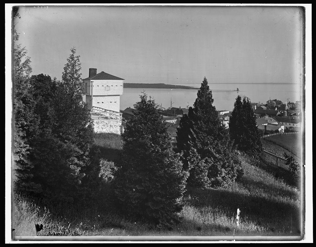 Block house, [Fort Mackinac], Mackinac Island
