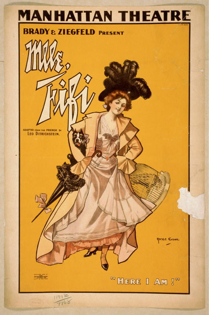 Brady & Ziegfeld present Mlle. Fifi adapted from the French by Leo Ditrichstein.