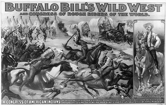 Buffalo Bill's Wild West and congress of rough riders of the world A congress of American Indians [...].