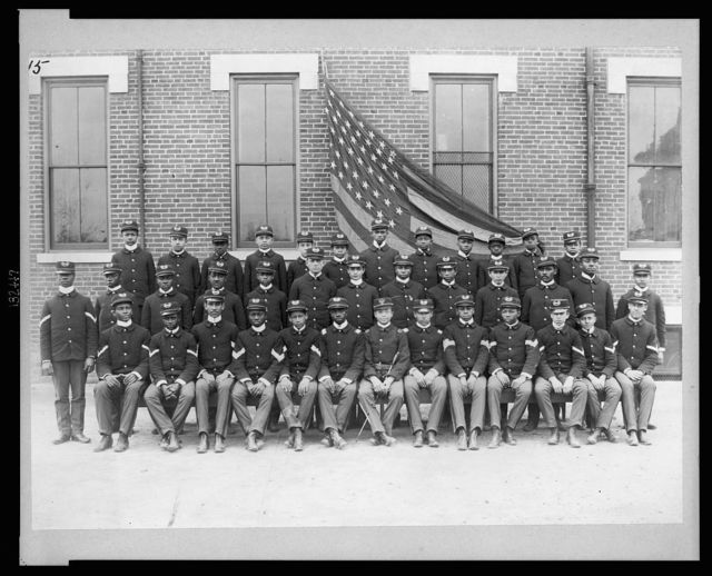 Cadets at Haines Normal and Industrial Institute, Augusta, Georgia