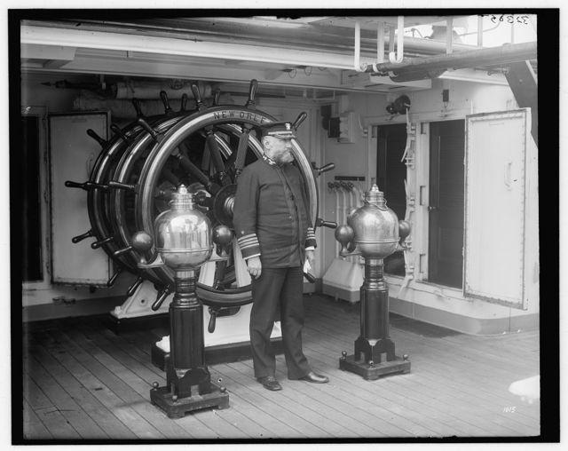[Captain Edwin Longnecker, U.S.S. New Orleans]
