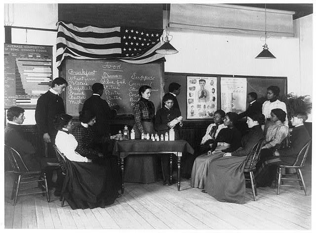 Class in hygiene [Hampton Institute, Hampton, Va.]