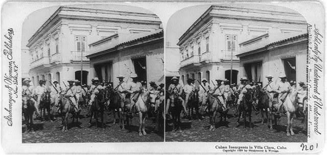 Cuban insurgents in Villa Clara, Cuba