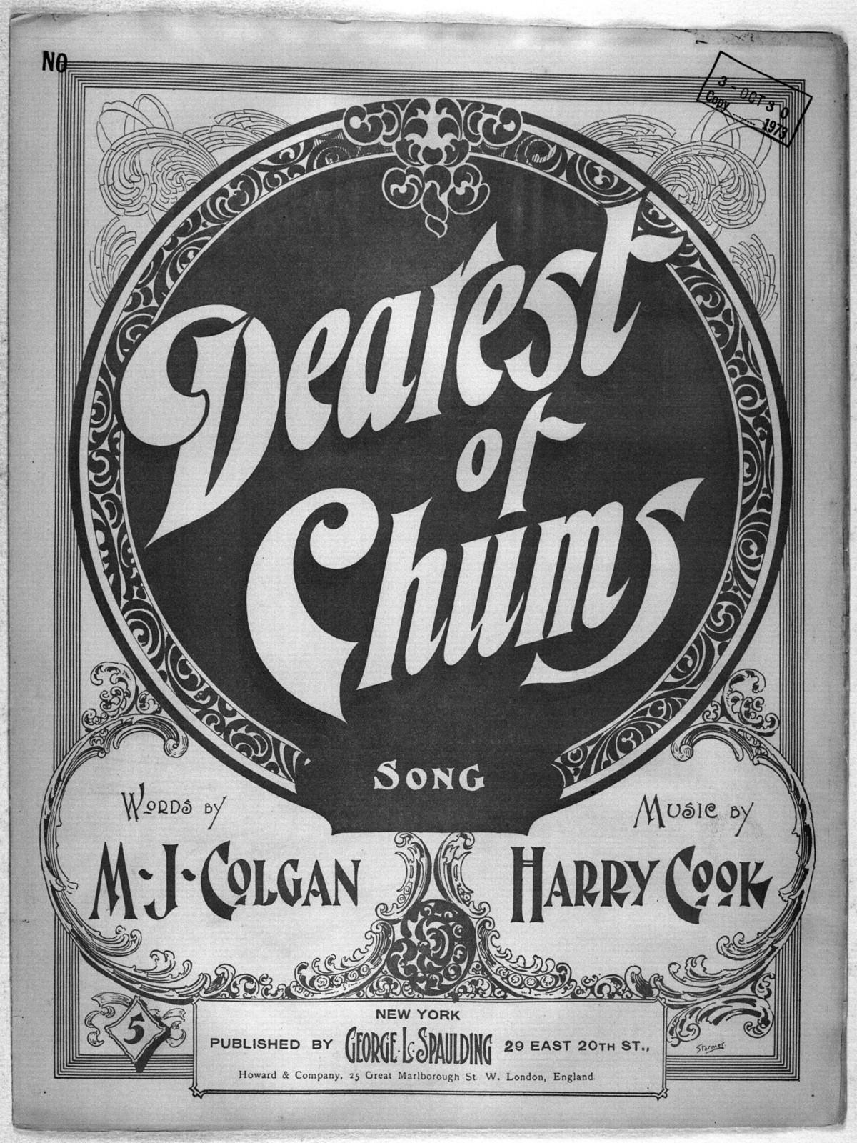 Dearest of chums