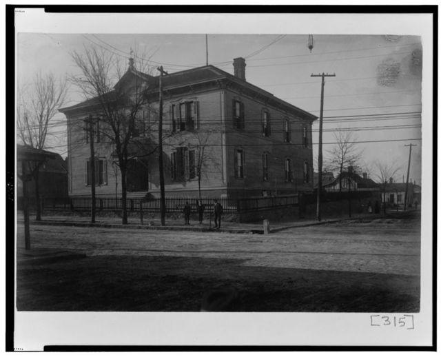 [Exterior view of unidentified building in Georgia]