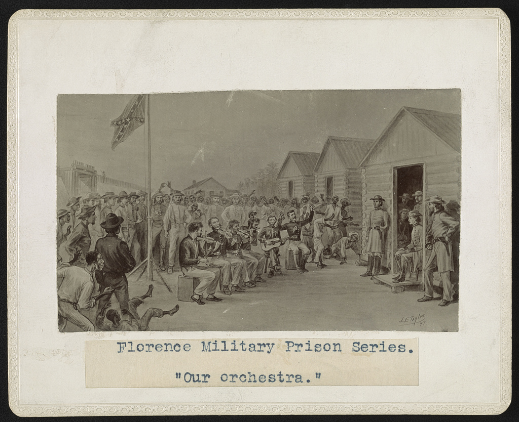 """Florence military prison series - """"Our orchestra"""""""
