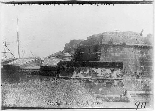 Fort San Antonio, Manila, from Pasig River
