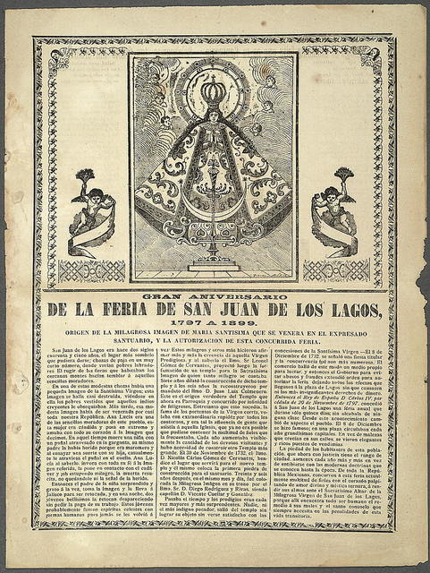 Gran aniversario de la feria de San Juan de los Lagos, 1797 a 1899