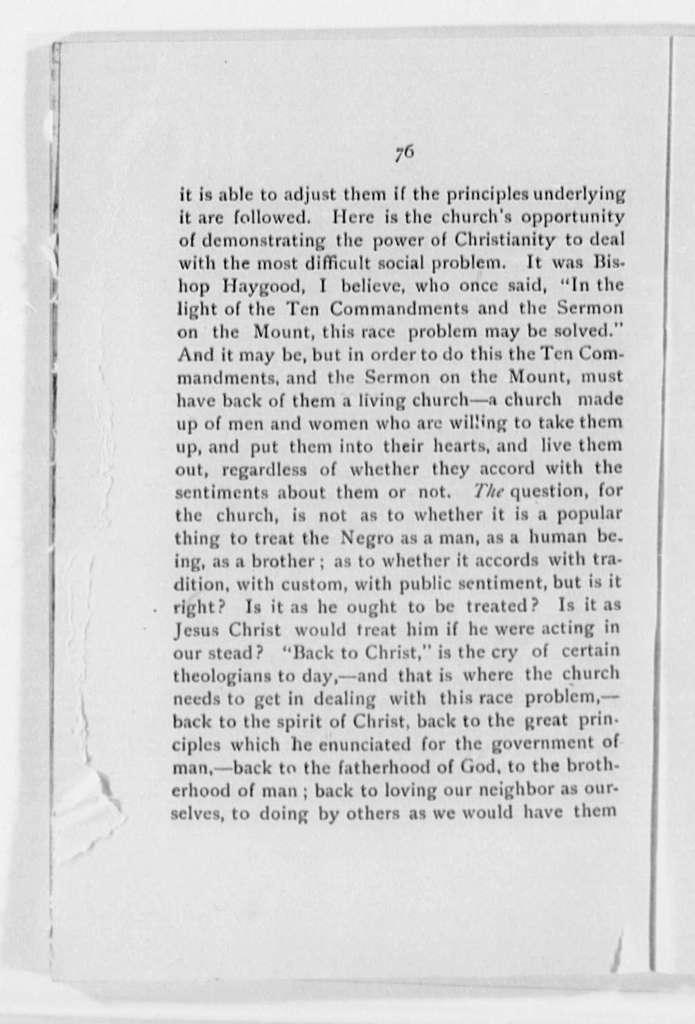 Grimke, Francis J. - Folder 1 of 2