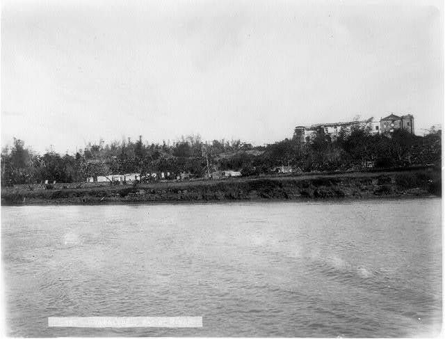Guadalupe, Pasig River [in foregrd., Philippines]