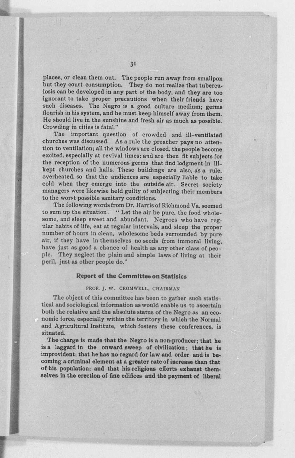 Hampton Negro Conference