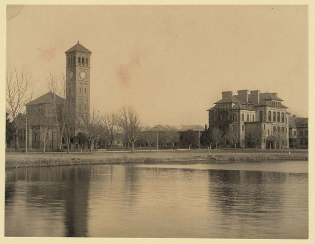 [Hampton Normal and Agricultural Institute, Hampton, Va. -- church and academic hall]