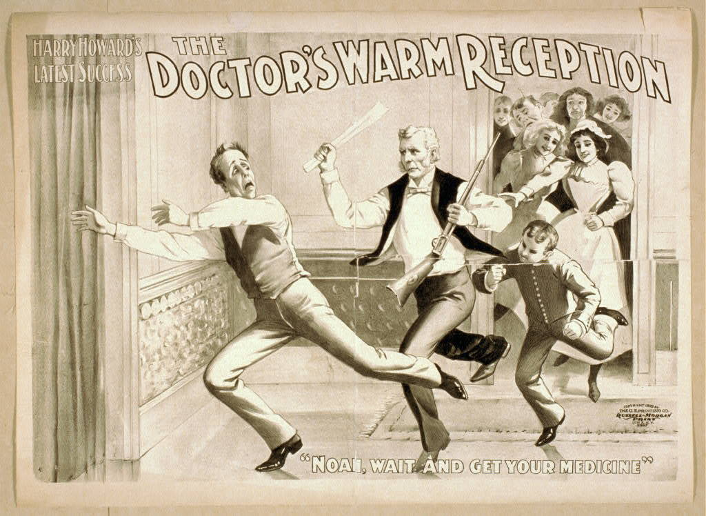 Harry Howard's latest success The doctor's warm reception