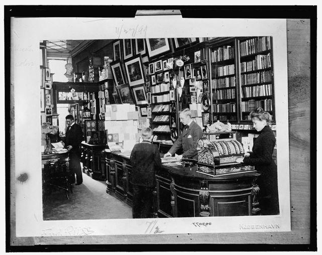 [Henriques Bonfils Bookstore, Denmark]