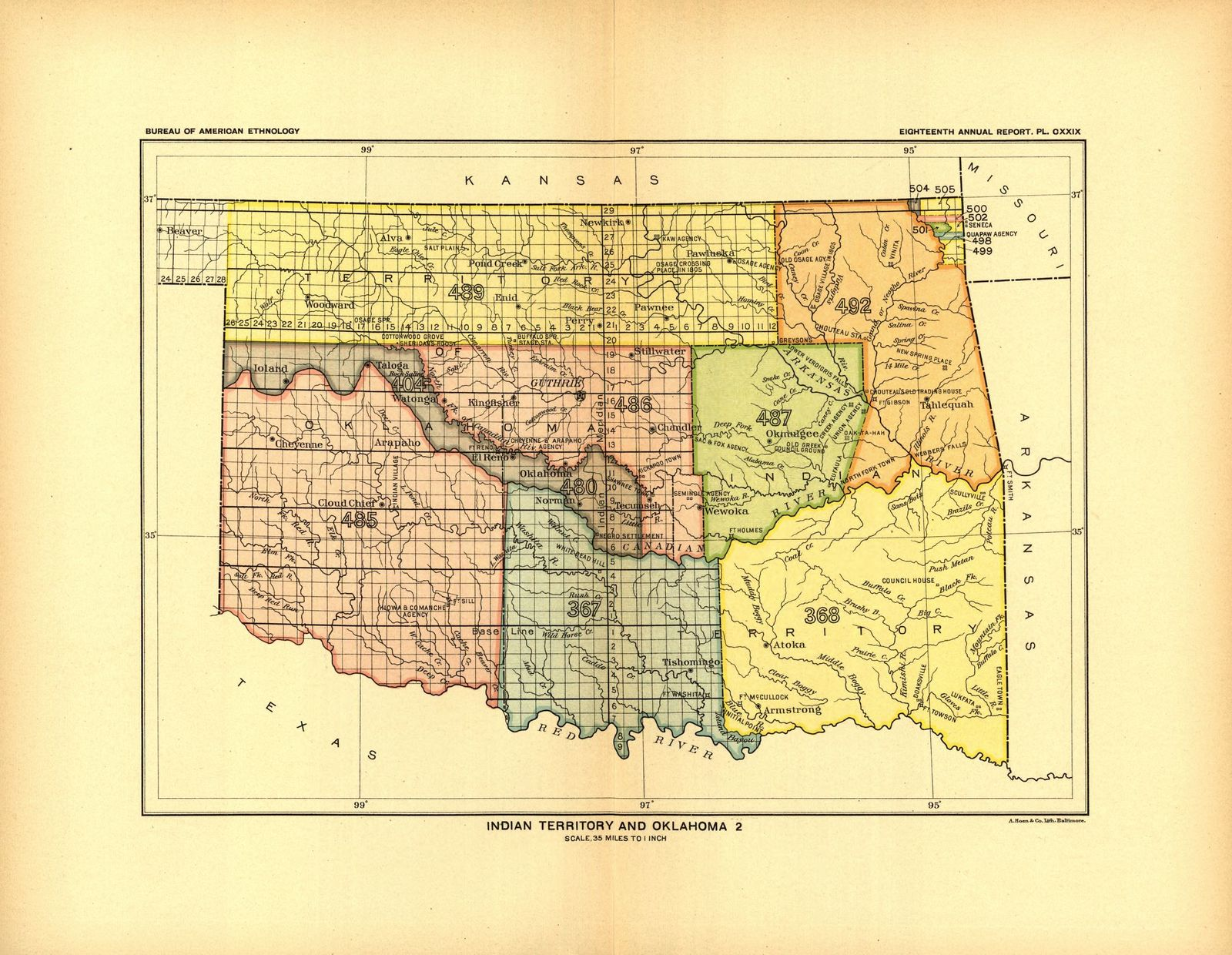 Indian land cessions in the United States,