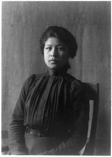 Indian student at Hampton Institute, Hampton, Va