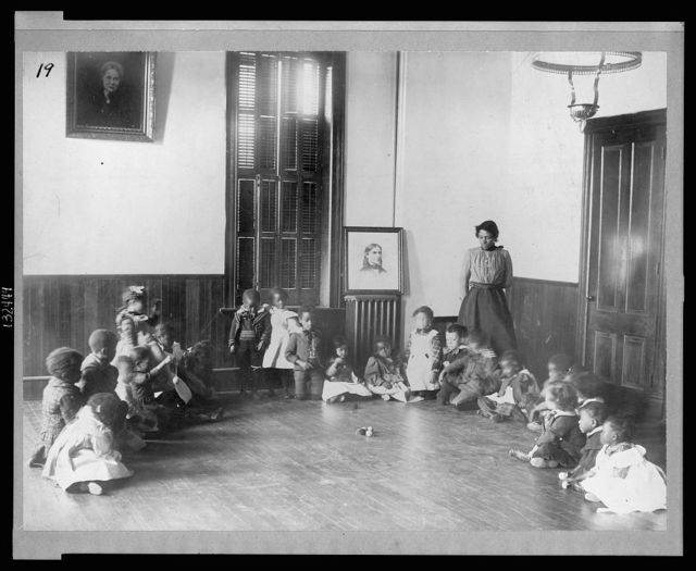 Kindergarten at Haines Normal and Industrial Institute, Augusta, Georgia