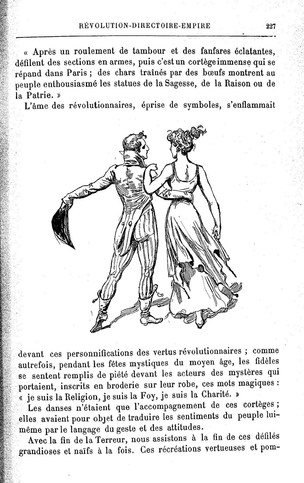 La  danse Comment on dansait, comment on danse