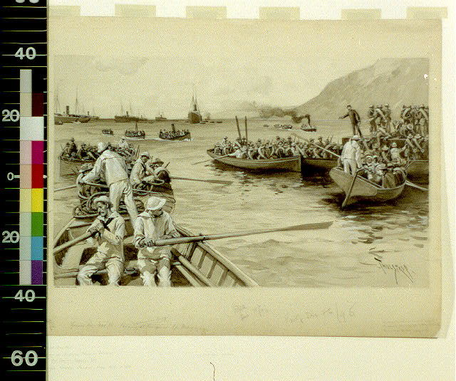 Landing of the American Army at Daiquiri