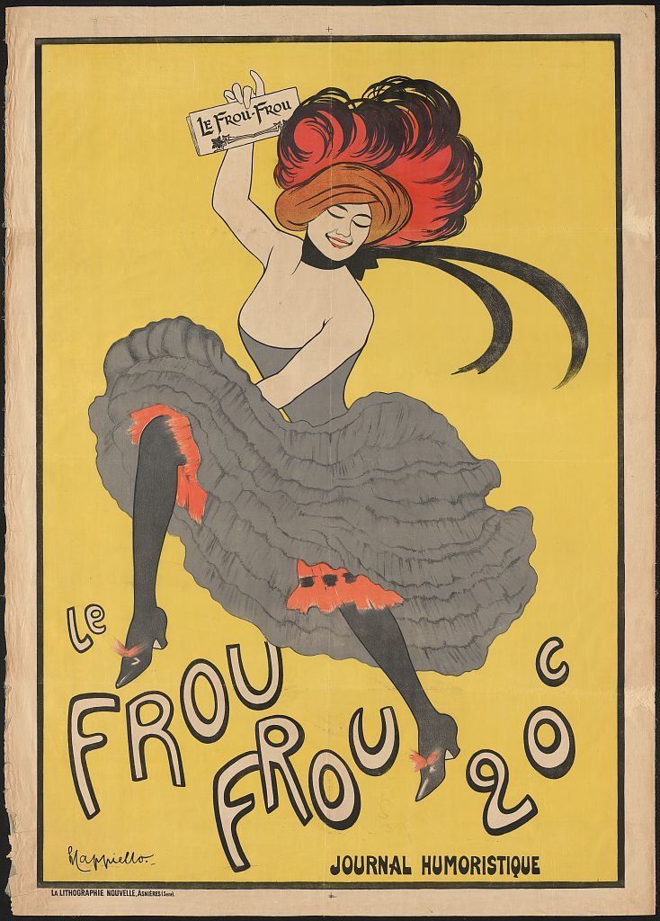 Le Frou Frou 20', journal humoristique / L Capiello.