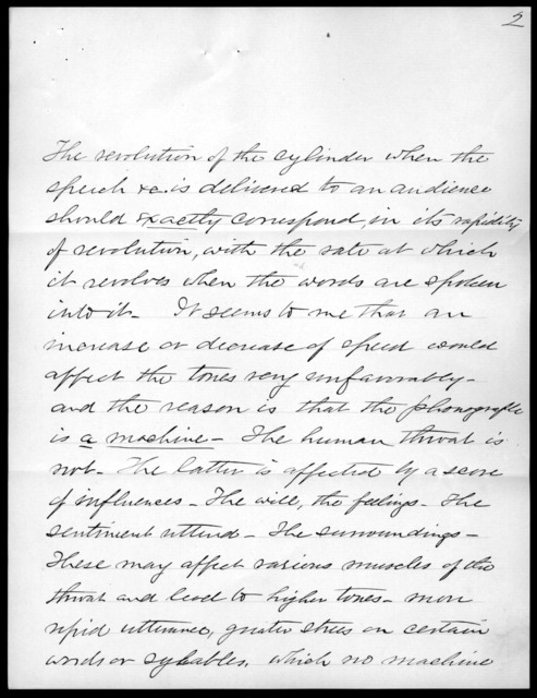 Letter from J. H. Bradford to Alexander Graham Bell, February 1, 1899