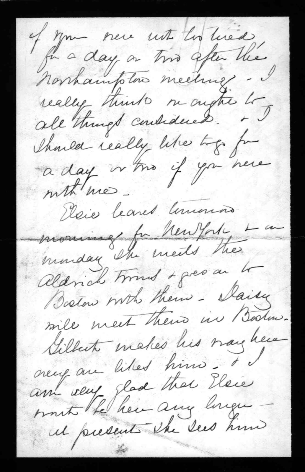 Letter from Mabel Hubbard Bell to Alexander Graham Bell, June 16