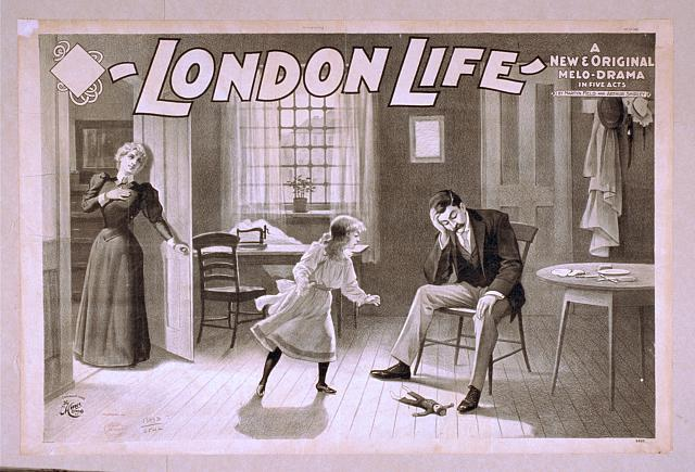 London life a new & original melo-drama in five acts : by Martyn Field and Arthur Shirley.