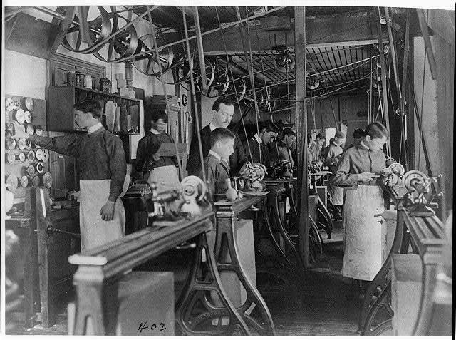 [Machine shop class, Washington, D.C.]