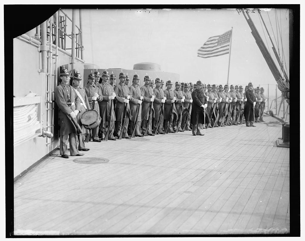 Marines, U.S.S. New York