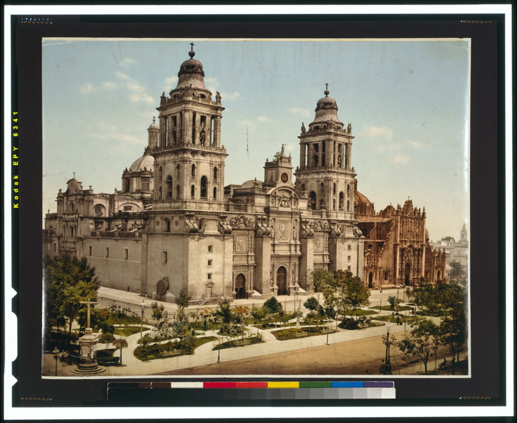 Mexico, the Cathedral, City of Mexico