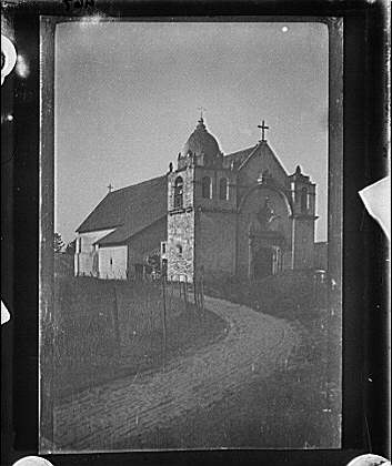 Mission church in the American Southwest