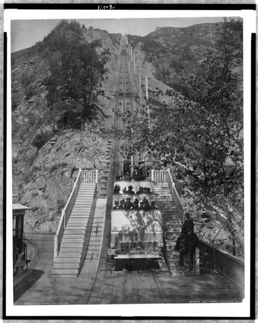 Mt. Lowe Railway, cable incline