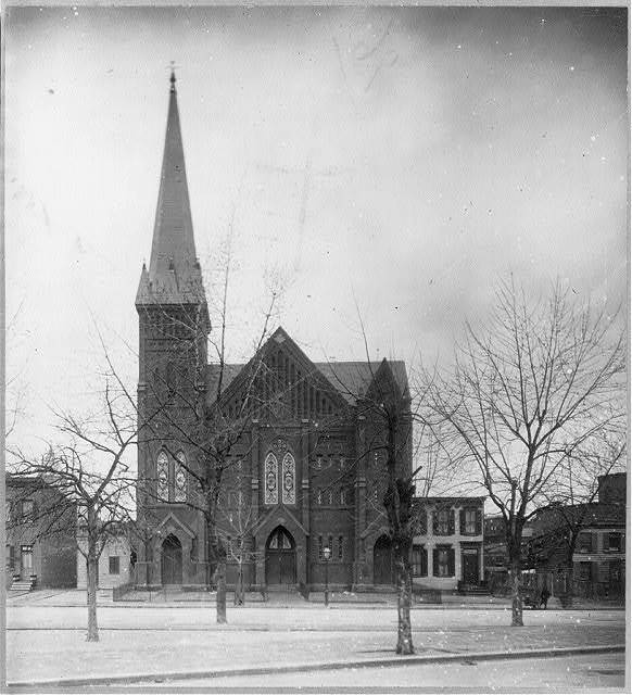 Negro churches - Baptist Churches, Washington, D.C. - Vermont Ave. Baptist Church